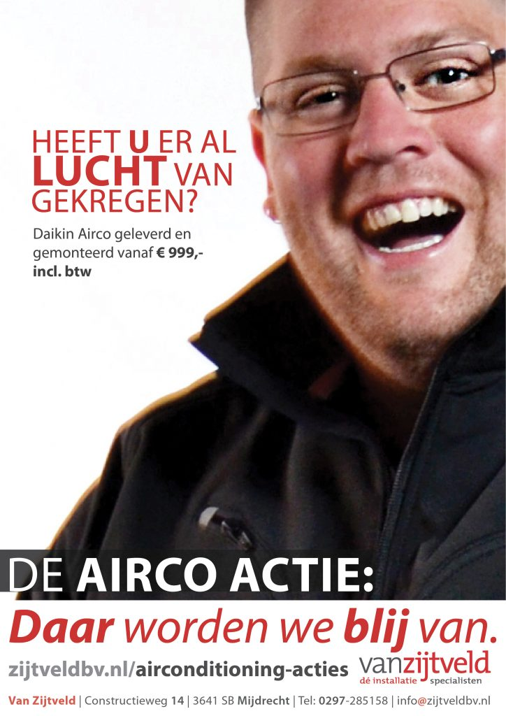 Airconditioning Abcoude | Van Zijtveld bv is de specialist